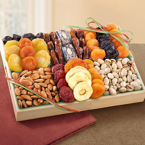 Pacific Coast Deluxe Dried Fruit Tray with Nuts