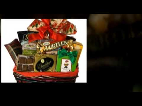 Gourmet Holiday gift baskets