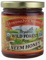 Heavenly Organics Organic Wild Forest Raw Honey Unheated — 12 oz