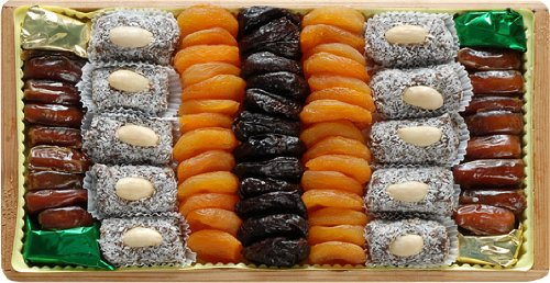 Broadway Basketeers Dried Apricot and Date Pack Gift Box