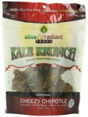 Alive and Radiant Kale Krunch, Cheezy Chipotle, 2.2 Ounce