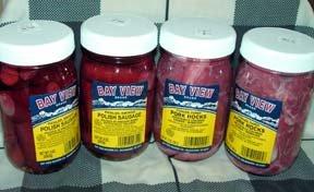 Bay View Pickled Meat Lover's Gourmet Sampler Gift
