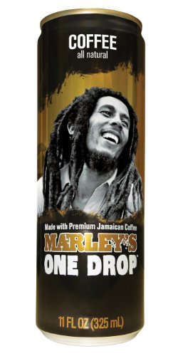 Marley Beverages One Drop Coffee, Coffee, 11 Ounce (Pack of 12)