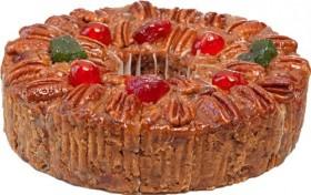 Sliced DeLuxe® Fruitcake 2 lbs. 14 ozs. Collin Street Bakery