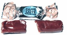 Coffee Rio's Gourmet Caffe Latte Sugar Free Coffee Candy Chews, Bulk/lb