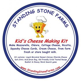 Kid's Cheese Making & Compound Butter Making kit