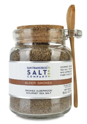 8 Oz Chef's Jar – Alderwood Smoked Sea Salt