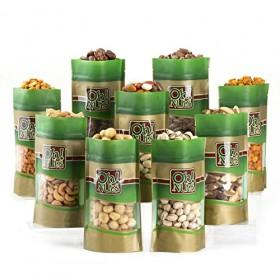 Mixed Nuts Gift Box – 9 Gourmet Varieties 45 Oz – Oh! Nuts (Nine Varieties)