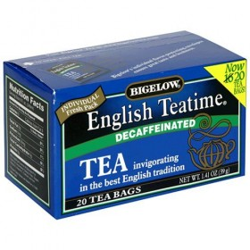 English Teatime Decaf Tea 20 Bags (Pack of 6)