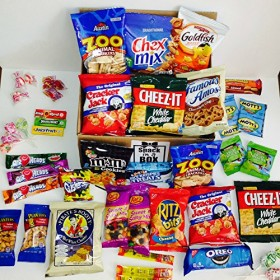 EZ Care Package (48 Count) With Snack Gifts Best Gift For College Student And Military Care Package