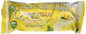 Quest Nutrition Natural Protein Bar, Lemon Cream Pie, 12 Count