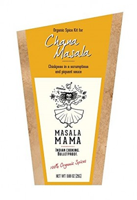 Indian Spice Kit for Chana Masala (Chickpeas) – Organic Curry Spice Blends by Masala Mama