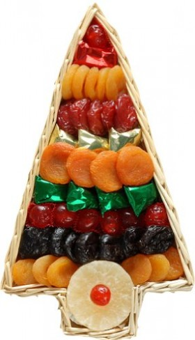 Broadway Basketeers Dried Fruit Gift Tray Assortment