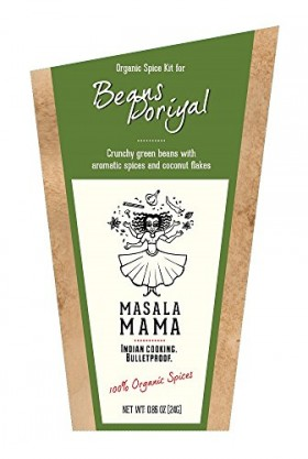 Indian Spice Kit for Beans Poriyal (Green Beans) – Organic Curry Spice Blends by Masala Mama