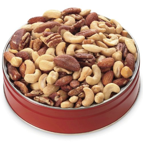 1-lb  Deluxe Mixed Nuts Gift Tin from Wisconsin Cheeseman