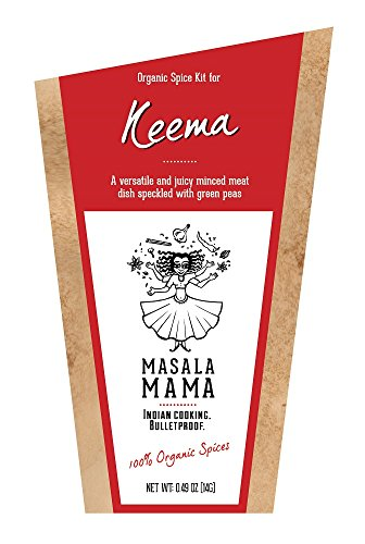 Indian Spice Kit for Keema (Minced Meat or Turkey) – Organic Curry Spice Blends by Masala Mama