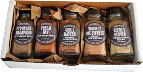 Set of 5 FreshJax Gourmet Handcrafted Spices (Grilling Spices)