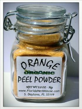 Orange Peel Ground 2.0 oz. (56g) – Organic Eco Friendly Gifts! – Eco-Spices!