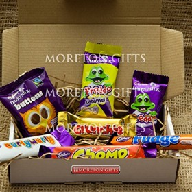 Cadbury Funsize Treat Box – Buttons, Freddo Bars, Curly Wurly, Chomp, Fudge & Crunchie – By Moreton Gifts