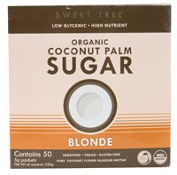 Big Tree Farms – Organic Coconut Palm Sugar Blonde – 50 Packet(s)