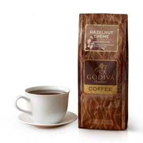 Godiva Chocolatier Hazelnut Creme Coffee, 10 Ounce