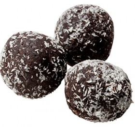 Low Carb Rum Balls – 12 Pack – Only 1 Net Carb Per Ball – Best Tasting Diet Product Ever!