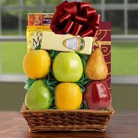 Splendid Sugar Free & Fresh Fruit Gift Basket