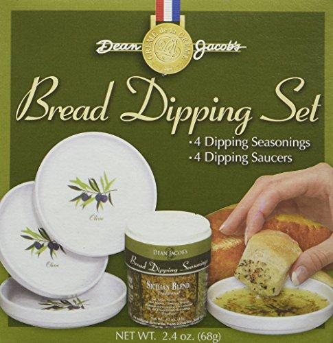 Dean Jacob's 5 Piece Melamine Bread Dipping Set
