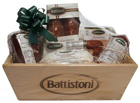 4.65 lb Gourmet Italian Meat Lovers Gift Basket