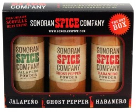 Ghost Pepper – Habanero – Jalapeno 3.75 Oz Powder Gift Box