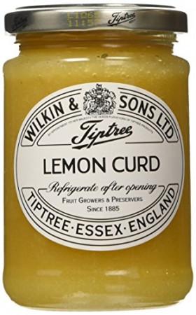 Tiptree Lemon Curd by Wilkin and Sons 312g
