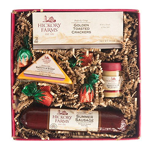 Hickory Farms Original Hickory Selection with Hardwood Smoked Sausage Gift Set