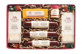 Hickory Farms Sausage & Cheese Collection Deluxe Gift Set (1.4 lbs)