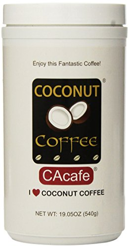 Cacafes Coconut Coffee in Jar #28528 (Cane Sugar Added)