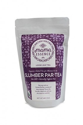 Slumber Par-tea – Mama Essence – Organic Herbal Pregnancy Tea – Relaxation and Sleep Support