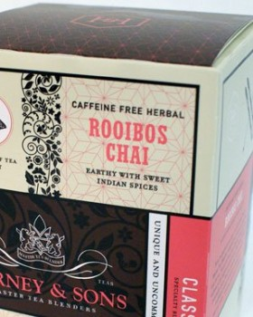 Rooibos Chai, Box of 20 Wrapped Sachets by Harney & Sons