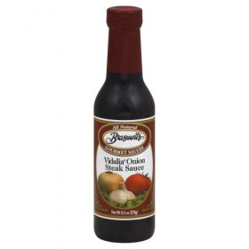 Braswell's Vidalia Onion Steak Sauce 9.5 Oz (Pack of 2)