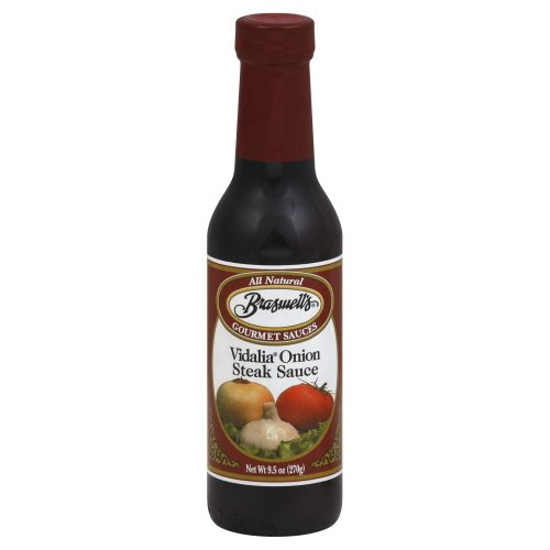 Braswell's Vidalia Onion Steak Sauce 9.5 Oz (Pack of 2)