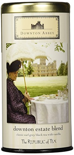 "Downton Abbey Estate Blend ""Earl Grey Black Tea with Vanilla"" Limited Edition Tin 36 Tea Bags"