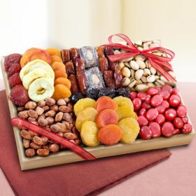 Sweet Extravagance Dried Fruits and Nuts Tray