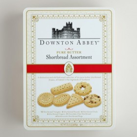 "Downton Abbey ""Walkers Pure Butter Shortbread Assortment Tin"" 21.2oz / 600g"