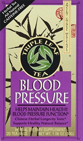 Triple Leaf Tea Blood Pressure — 20 Tea Bags