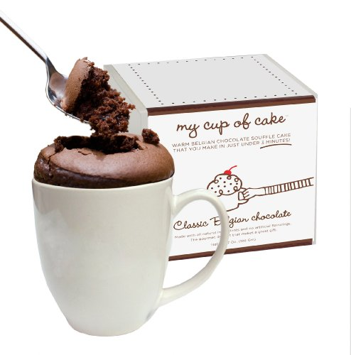 My Cup of Cake Belgian Chocolate Souffle Cake