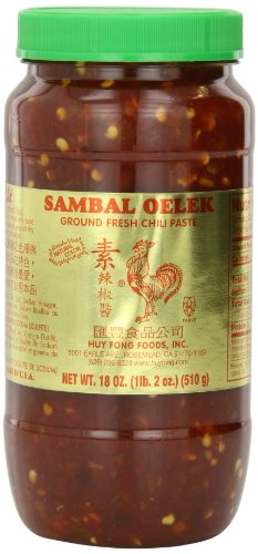 Huy Fong Sambal Oelek Chili Paste, 18 Ounce