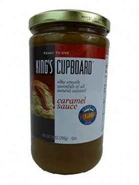 King's Cupboard All Natural Caramel Sauce 28 Ounce