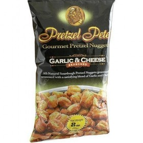 Pretzel PeteS Gourmet Garlic And Cheese Pretzel Nuggets (Pack Of 12)