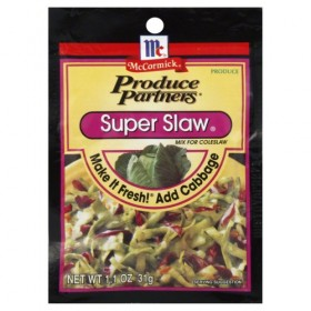 Produce Partners Super Slaw Mix, 1.1-ounce (Pack of 6)