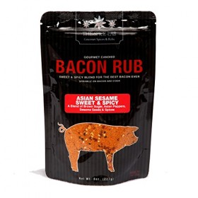 The Spice Lab's Gourmet Asian Sesame Sweet & Spicy Bacon Rub