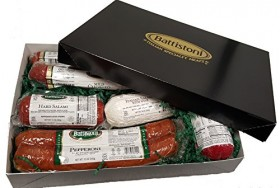 "3.5 lb ""Tour of Italy"" Gourmet Italian Meat Sampler Gift Box"