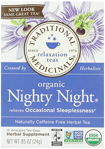 Traditional Medicinals, Organic Nighty Night Tea, 16 ct